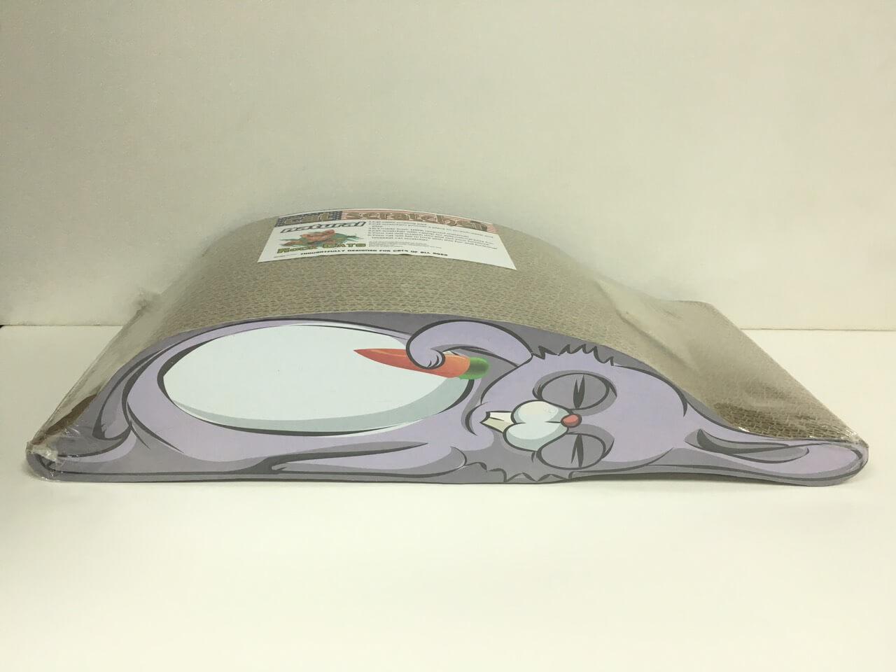 灰兔-貓抓板