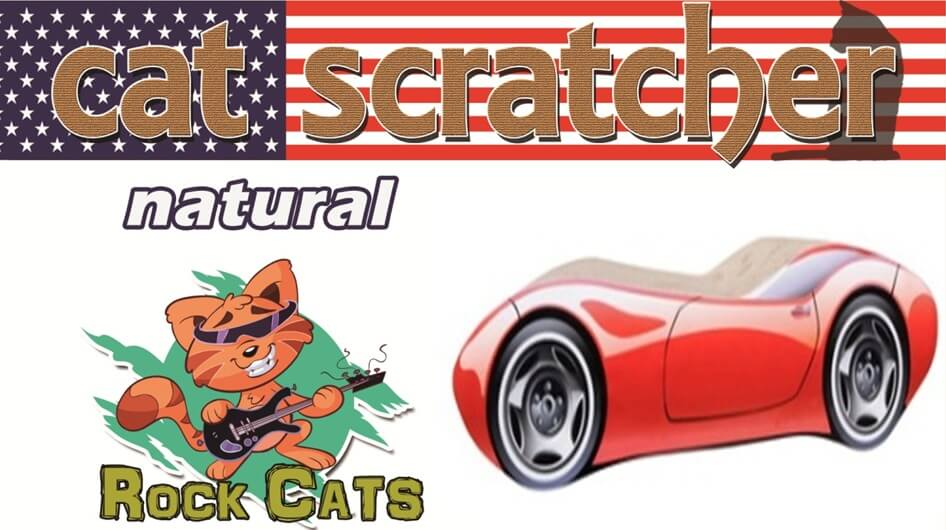 跑車-貓抓板
